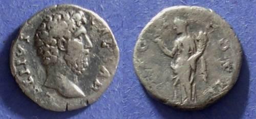 Ancient Coins - Roman Empire, Aelius 136-8 AD, Denarius