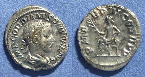 Ancient Coins - Roman Empire, Gordian III 238-44, Denarius
