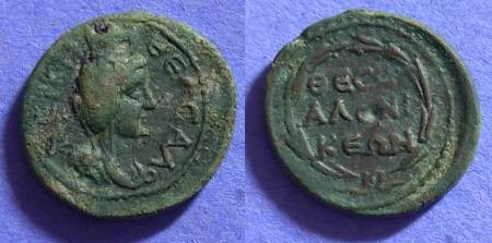 Ancient Coins - Thessalonica Macedonia - AE20 - 1st Century AD