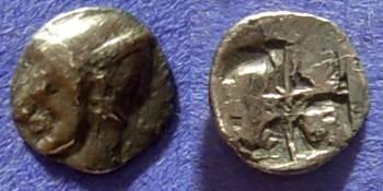 Ancient Coins - Phokaia Ionia 1/24 Stater (Hemiobol) Circa 525-500 BC