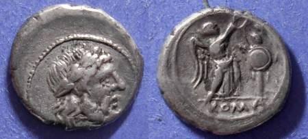 Ancient Coins - Roman Republic,  Circa 200 BC, Victoriatus