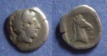 Ancient Coins - Thessally, Pharsalos Circa 425 BC, Hemidrachm