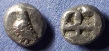 Ancient Coins - Troas, Abydos 480-450 BC, Diobol