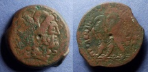 Ancient Coins - Egypt, Ptolemy V 205-180 BC, AE34