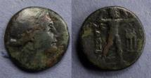 Ancient Coins - Messenia, Messene 180-150 BC, AE21