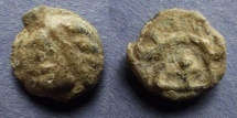 Ancient Coins - Gaul, Leuci Circa 50 BC, 17mm