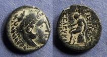 Ancient Coins - Seleucid Kingdom, Seleukos II 246-226 BC, AE16