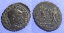 Ancient Coins - Roman Empire, Maxentius 306-312, Follis 26mm