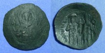 Ancient Coins - Byzantine Empire, Michael VIII 1261-82, Trachy