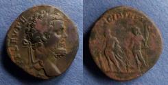 Ancient Coins - Roman Empire, Septimius Severus 193-211, Sestertius