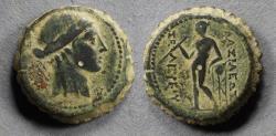 Ancient Coins - Seleucid Kingdom, Seleukos IV 187-175 BC, AE22