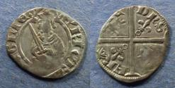 World Coins - France, Aquitaine, Henry IV to VI 1399-1461, Hardi d'Argent