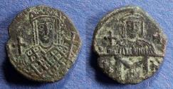 Ancient Coins - Byzantine Empire, Irene & Constantine VI 780-797, Follis