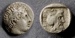 Ancient Coins - Pergamon, Mysia Circa 450 BC, Diobol