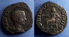 Ancient Coins - Roman Empire, Hostilian 250-1, Sestertius