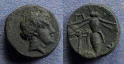 Ancient Coins - Troas, Gentinos Circa 350 BC, AE12