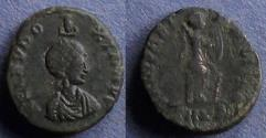 Ancient Coins - Roman Empire, Eudoxia 400-4, AE3
