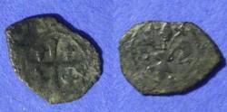 World Coins - Kingdom of Sicily - Charles of Anjou 1266-1282 Denaro