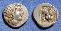 Ancient Coins - Islands off of Caria, Rhodes 150-125 BC, Drachm