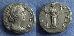 Ancient Coins - Roman Empire, Faustina Jr 146-175, Imitative Denarius