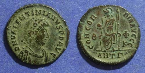 Ancient Coins - Roman Empire, Valentinian II 375-392, AE3