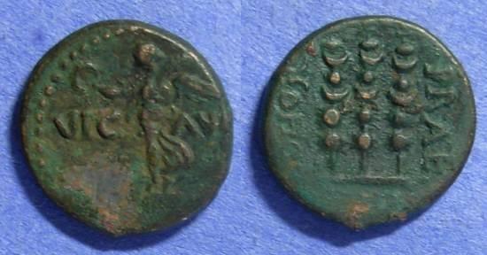 Ancient Coins - Philippi Macedonia – 1st Century AD – AE18