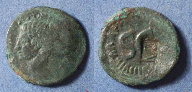 Ancient Coins - Roman Empire, Augustus 27BC-14DA, As