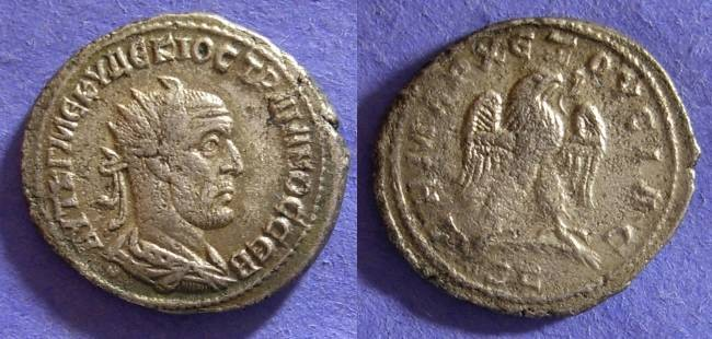 Ancient Coins - Trajan Decius 249-251 – Tetradrachm of Antioch