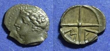 Ancient Coins - Gaul, Massalia 200-121 BC, Obol