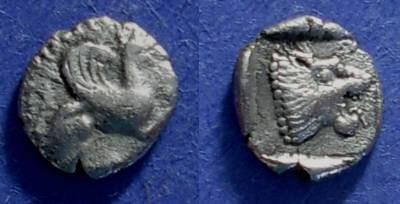 Ancient Coins - Assos, Aiolis 479-450 BC, Obol