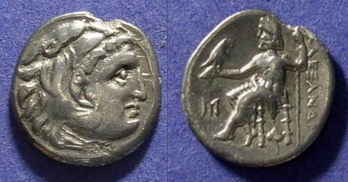 Ancient Coins - Macedonian Kingdom Alexander III 336-323 BC Drachm