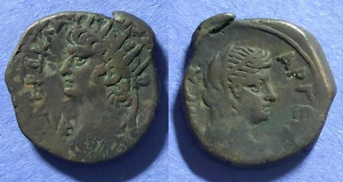 Ancient Coins - Roman Egypt, Nero 54-68, Tetradrachm