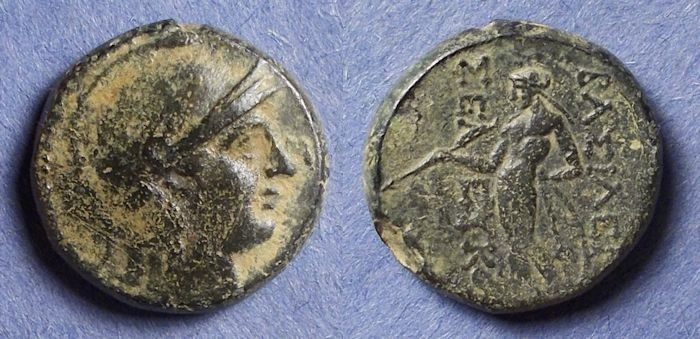 Ancient Coins - Seleucid Kingdom, Seleukos II 246-226 BC, AE19