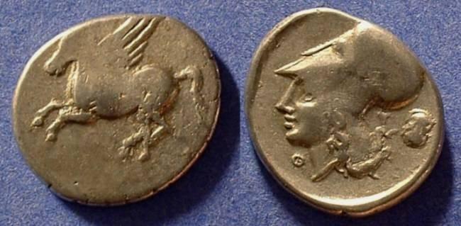 Ancient Coins - Thyrrheion Akarnania Stater 350-250BC