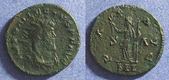 Ancient Coins - Allectus 293-6 British Secessionist Emperor - Antoninianus