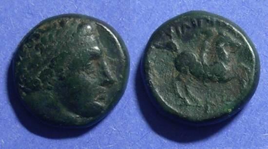 Ancient Coins - Macedonian Kingdom, Philip II 359-300 BC, AE16