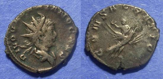 Ancient Coins - Roman Empire Divus Valerian Jr d. 258 Antoninianus