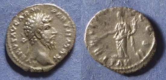 Ancient Coins - Roman Empire, Lucius Verus 161-169, Denarius