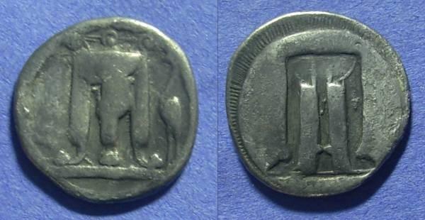 Ancient Coins - Kroton Bruttium – Nomos Circa 510-480BC