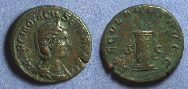 Ancient Coins - Roman Empire, Otacilia Severa 244-9, As