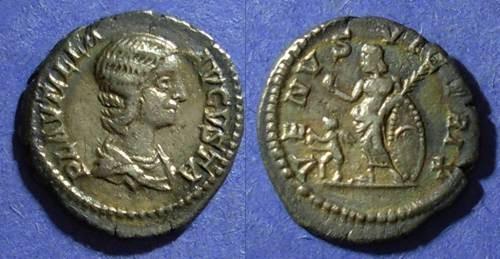 Ancient Coins - Roman Empire, Plautilla d 205 AD, Denarius