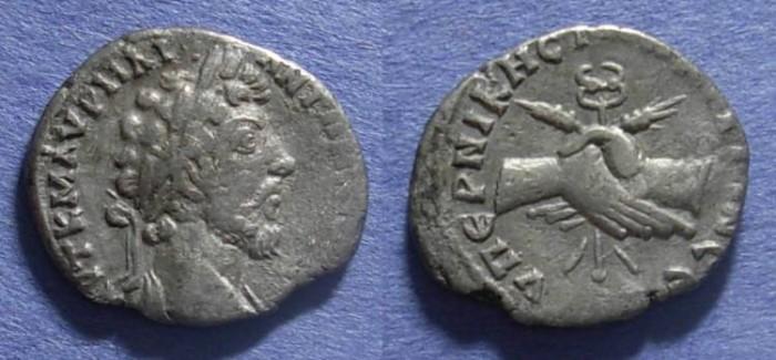 Ancient Coins - Marcus Aurelius - Drachm of Mesopotamia - Unpublished