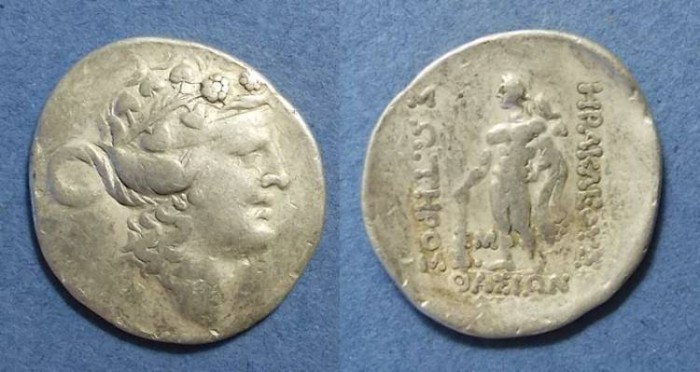 Ancient Coins - Thasos, Thrace 167-148 BC, Tetradrachm