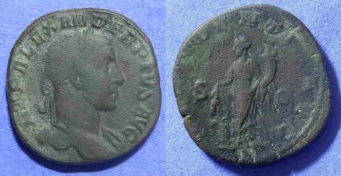 Ancient Coins - Severus Alexander 222-235AD  Sestertius