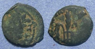 Ancient Coins - Judaea, Pontius Pilate 26-36 AD, Prutah