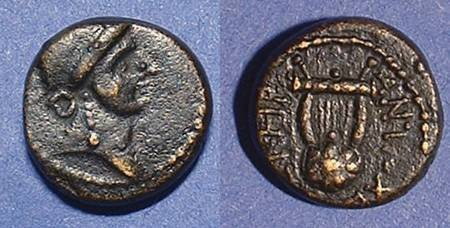 Ancient Coins - Antioch Syria AE15 Time of Nero
