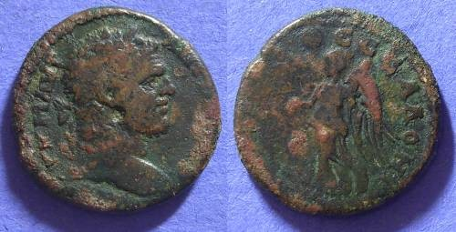 Ancient Coins - Caracalla 198-217 - AE25 of Thessalonica Macedonia