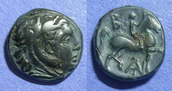 Ancient Coins - Macedonian Kingdom, Antigonos Gonatas 277-239 BC, AE16