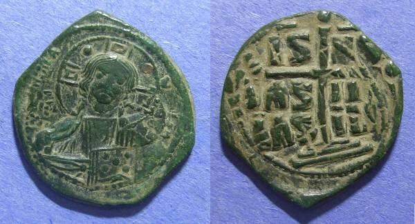 Ancient Coins - Byzantine Empire, Anonymous Circa 1030, Follis