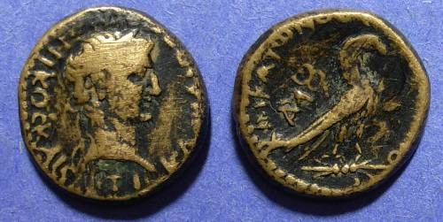 Ancient Coins - Amorion Phrygia, Claudius 41-54 AD, AE 18
